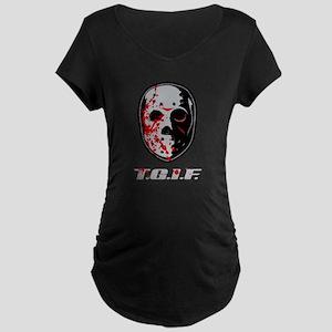 TGIF Jason Maternity Dark T-Shirt