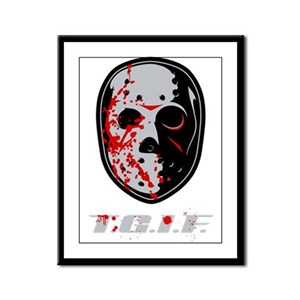 TGIF Jason Framed Panel Print