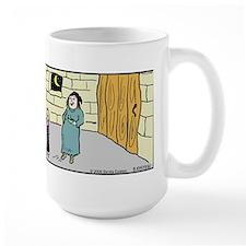 Kick Me Jester Large Mug