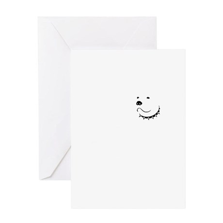 Piss on Vick Greeting Card