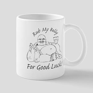 Rub My Belly For Good Luck Mug
