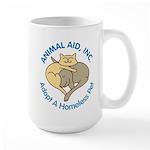 AA logo Adopt color Mugs