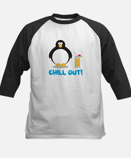 Chill Out! Kids Baseball Jersey