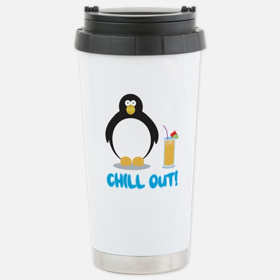 Chill Out! Stainless Steel Travel Mug
