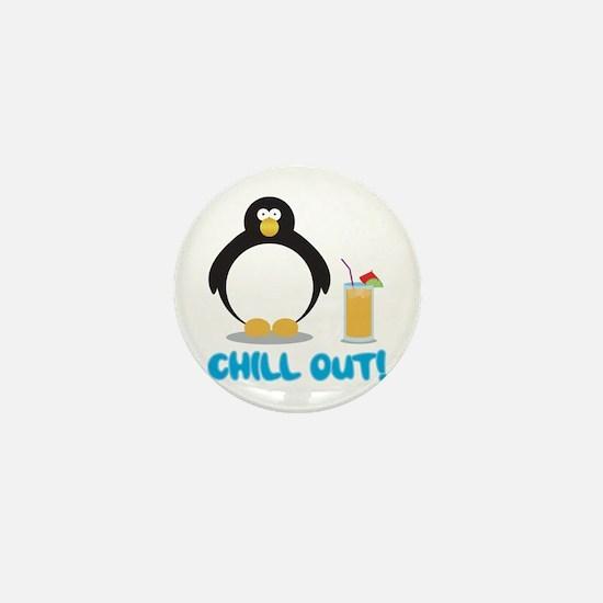 Chill Out! Mini Button