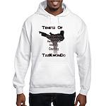 Traditional Taekwondo Tenets Hooded Sweatshirt