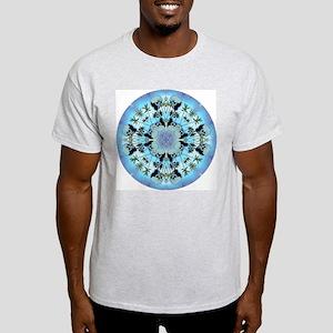 Manatee Love Medicine Symbol Ash Grey T-Shirt