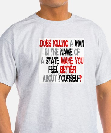 Killing make you better? Ash Grey T-Shirt