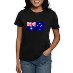 Australian Flag Women's Dark T-Shirt