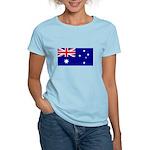 Australian Flag Women's Light T-Shirt