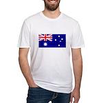 Australian Flag Fitted T-Shirt