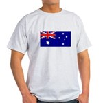 Australian Flag Light T-Shirt