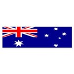 Australian Flag Bumper Sticker (10 pk)
