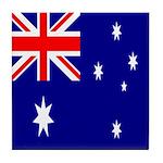 Australian Flag Tile Coaster