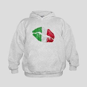 Italian kiss Kids Hoodie