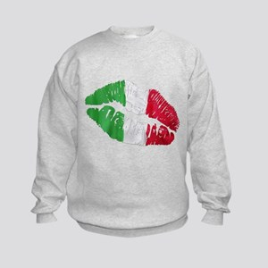 Italian kiss Kids Sweatshirt