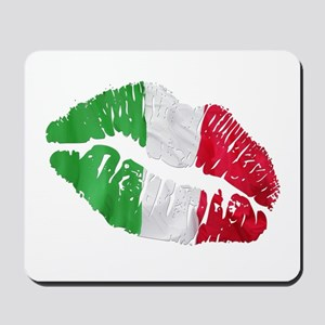 Italian kiss Mousepad