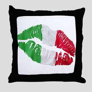 Italian kiss Throw Pillow