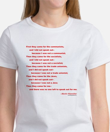First They Came For... Women's T-Shirt