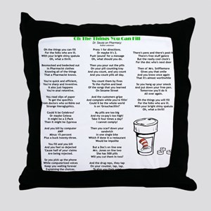 Things You Can Fill Throw Pillow