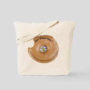 Donut Hole Tote Bag