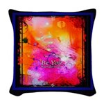 Be You Kevin Woven Throw Pillow
