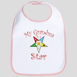 My Grandma is a Star Bib