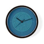 Scribble Circle Wall Clock