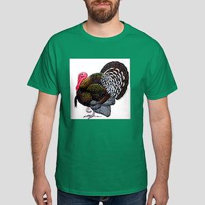 Brown Tom Turkey Dark T-Shirt