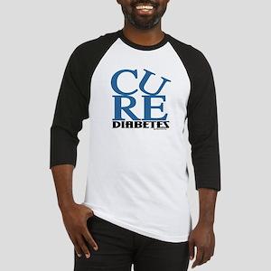 Blue Cure Baseball Jersey