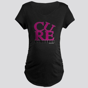 Pink Cure Maternity Dark T-Shirt