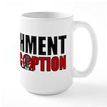 Impeachment Large Mug