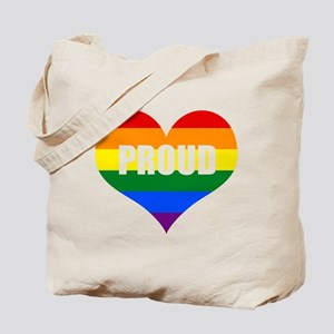 PROUD HEART (Rainbow) Tote Bag