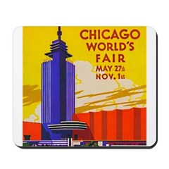 Chicago Worlds Fair Mousepad