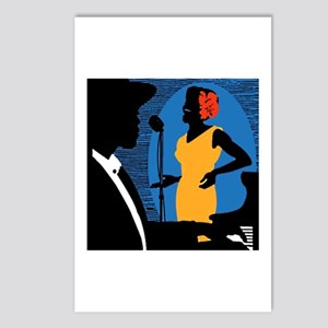 New York Jazz Postcards (Package of 8)