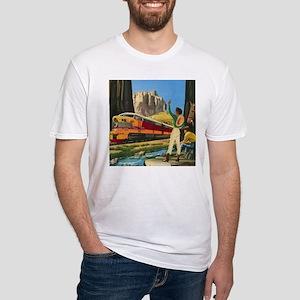 1952 Hiawatha Fitted T-Shirt
