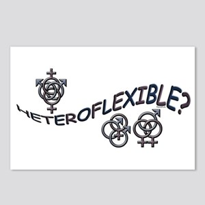 HETEROFLEXIBLE SWINGERS SYMBO Postcards (Package o