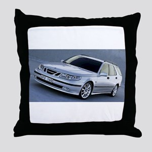 Saab 9.5 Throw Pillow