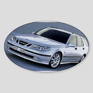 Saab 9.5 Oval Sticker