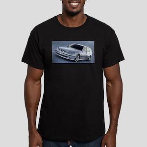 Saab 9.5 Men's Fitted T-Shirt (dark)