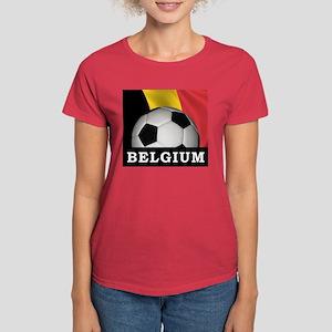 World Cup Belgium Women's Dark T-Shirt