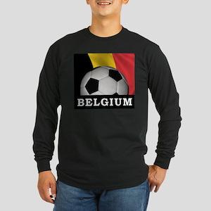 World Cup Belgium Long Sleeve Dark T-Shirt