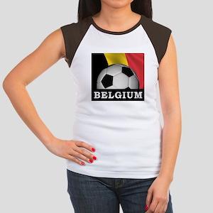 World Cup Belgium Women's Cap Sleeve T-Shirt