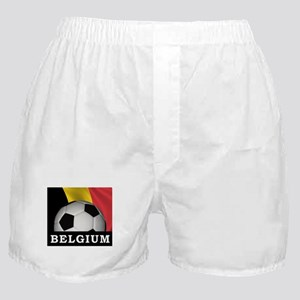 World Cup Belgium Boxer Shorts