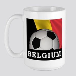 World Cup Belgium Large Mug