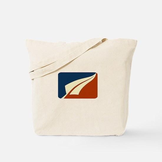 NZ Silver Fern Red Blue Tote Bag