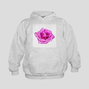 Purple Rose Kids Hoodie