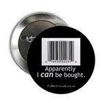 I can be bought UPC Button