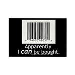 I can be bought UPC Rectangle Magnet (10 pack)