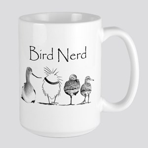 Wings Over Water - Bird Nerd Large Mug